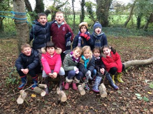 Forest School Group 2 Lower Stock farm Reindeer week 001