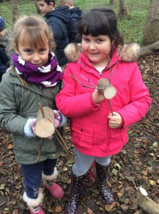 Forest School Group 2 Lower Stock farm Reindeer week 013
