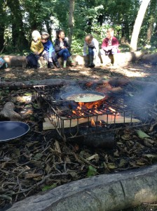 Forest School - Safe Fire Skills 039