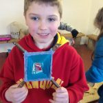 FEBRUARY 27th Forest school weaving 008