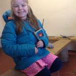 FEBRUARY 27th Forest school weaving 010