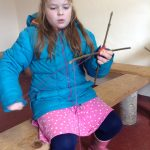 FEBRUARY 27th Forest school weaving 014