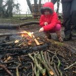 Forest School Fire Week last session Group 3 013